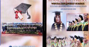 SIDANG SENAT TERBUKA, Angkatan XXI Tahun Akademik 2018