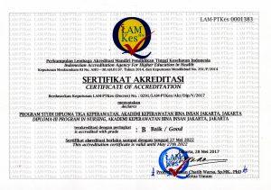 Sertifikat Akper Bina Insan Lam-Ptkes
